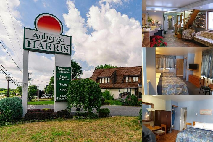 Auberge Harris photo collage