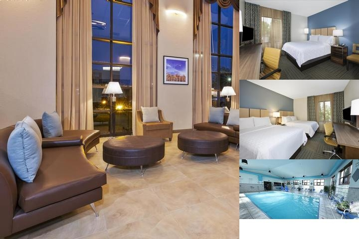 Holiday Inn Express Hotel & Suites Gr Airport photo collage