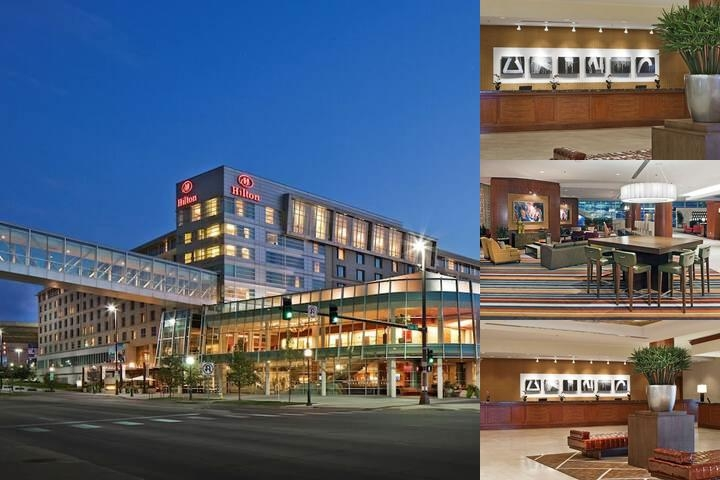 Hilton Omaha photo collage
