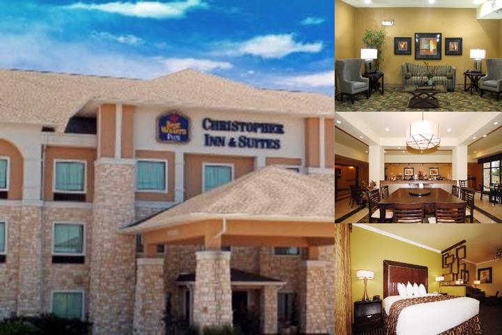 Best Western Plus Christopher Inn & Suites photo collage