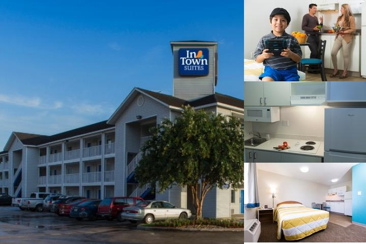 Suburban Extended Stay Hotel Universal photo collage