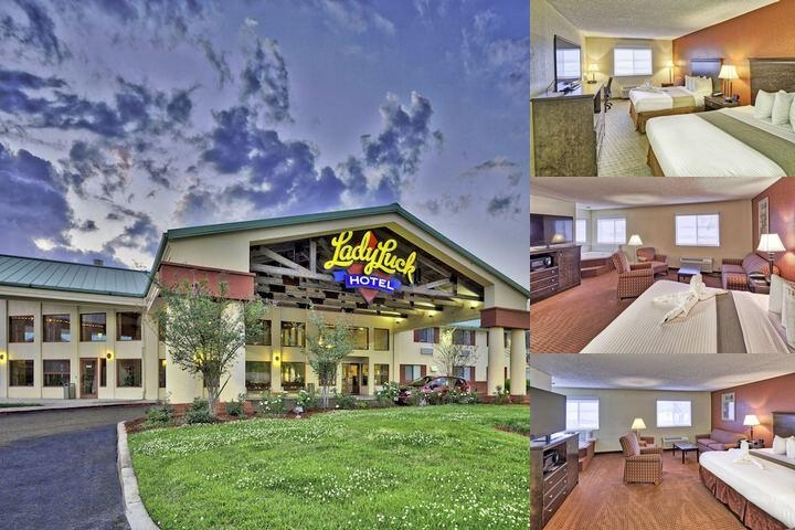 Lady Luck Casino Hotel photo collage