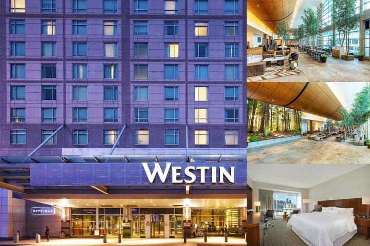The Westin Boston Waterfront photo collage