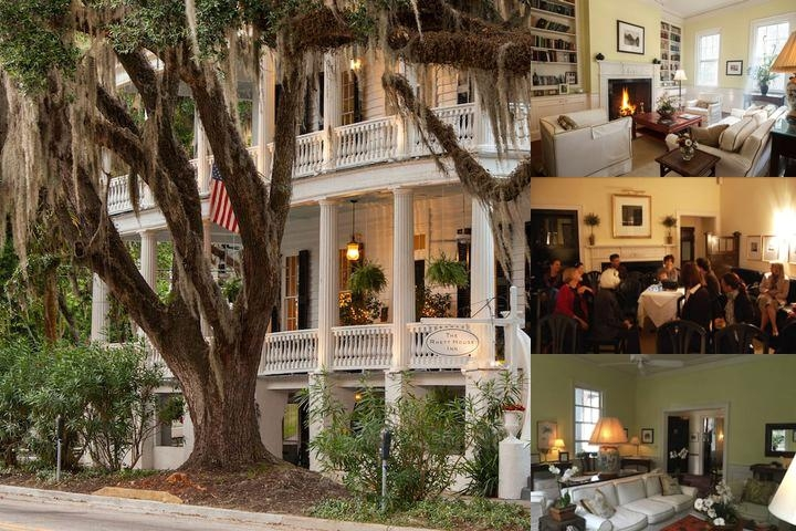 Rhett House Inn photo collage