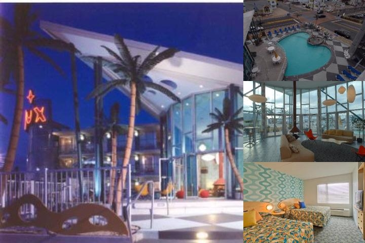 The Starlux Hotel photo collage