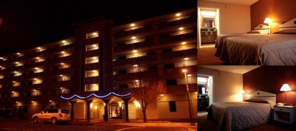 The Hotel Blue photo collage