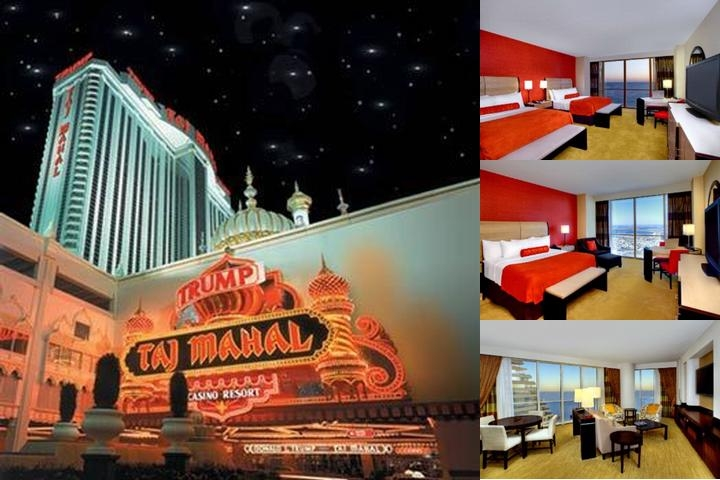 Trump Taj Mahal photo collage