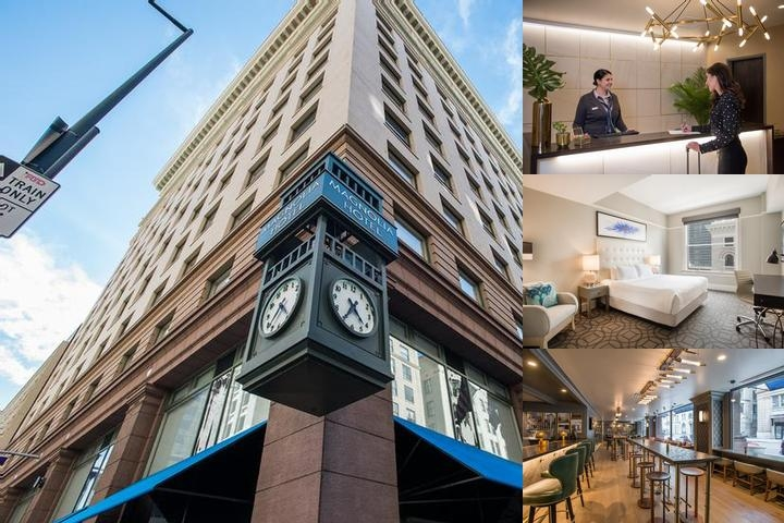 Magnolia Hotel photo collage