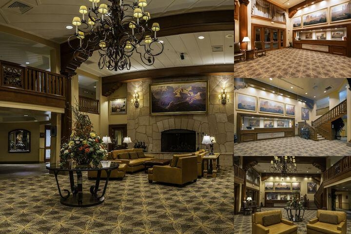 Grand Canyon Railway Hotel photo collage