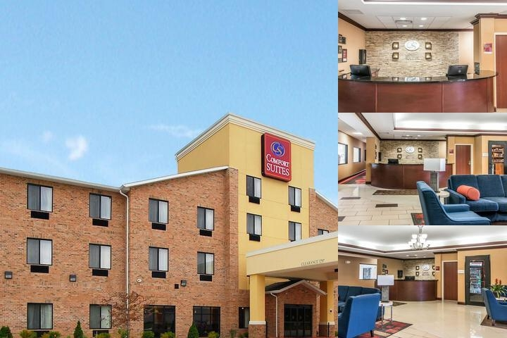 Comfort Suites South Bend photo collage