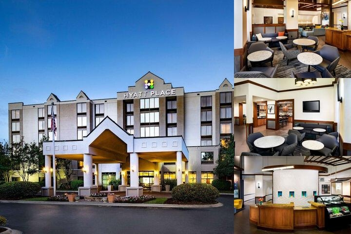 Hyatt Place Charlotte / Arrowood photo collage