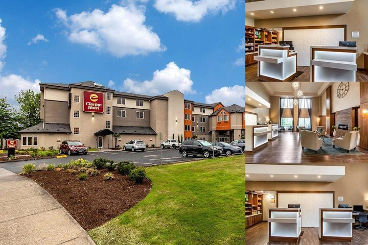 Clarion Hotel Portland International Airport photo collage
