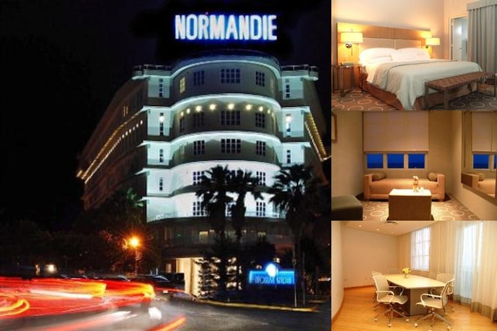 Normandie Hotel photo collage