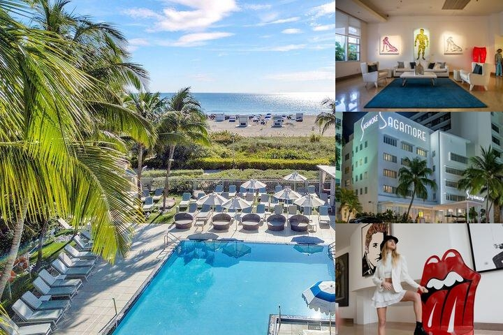 Sagamore Hotel South Beach photo collage