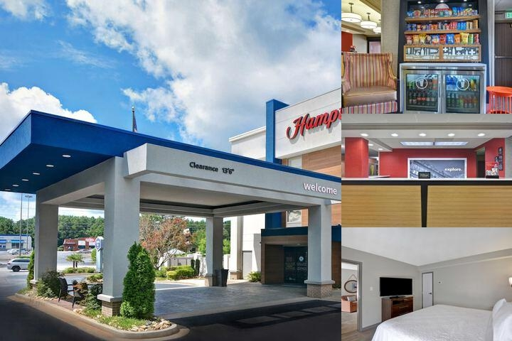 Hampton Inn Greenwood Sc photo collage