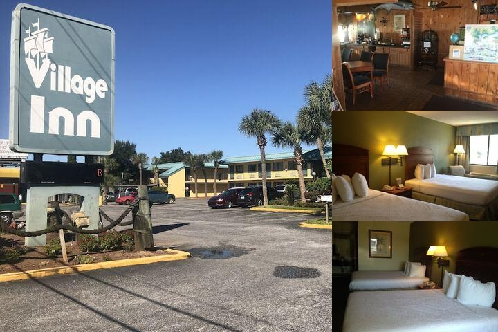 Village Inn photo collage