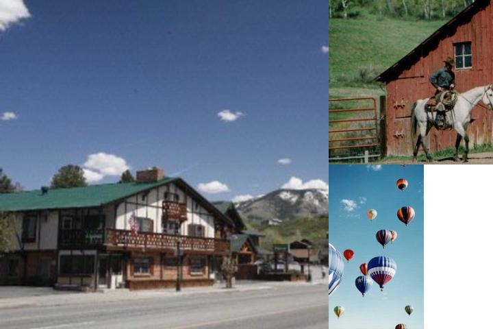 Alpiner Lodge photo collage