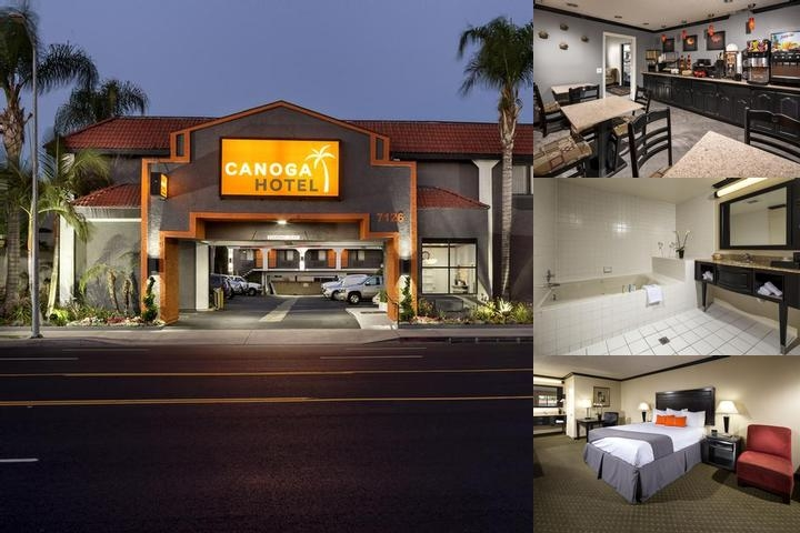 Canoga Hotel photo collage