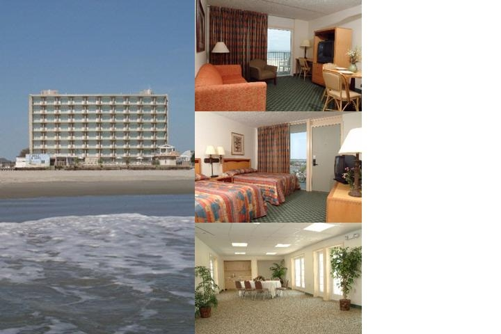 Reges Oceanfront Resort photo collage