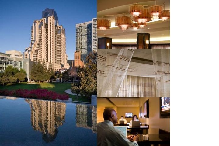 San Francisco Marriott Marquis photo collage