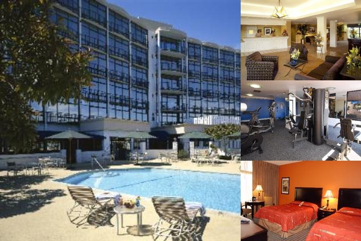 Red Lion Hotel Oakland International Airport photo collage