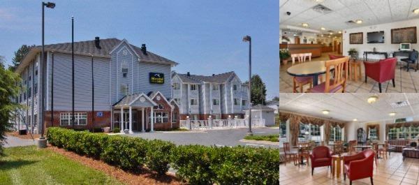 Microtel Inn & Suites Charlotte Northlake photo collage
