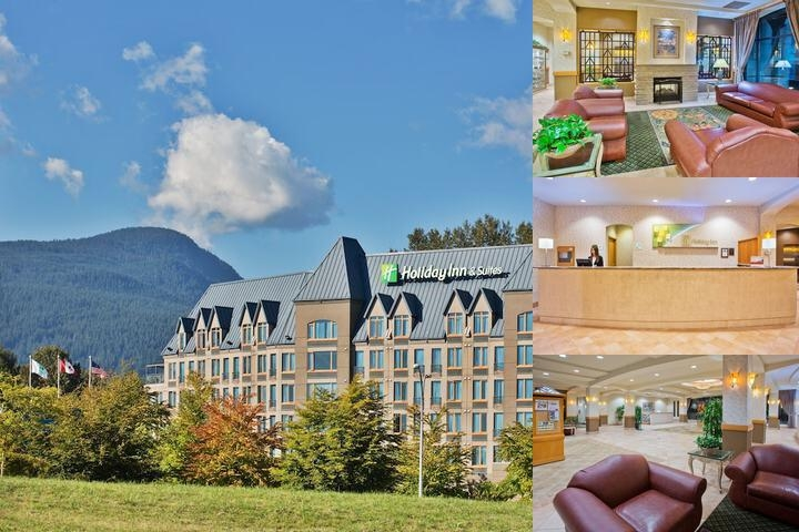 Holiday Inn & Suites North Vancouver photo collage