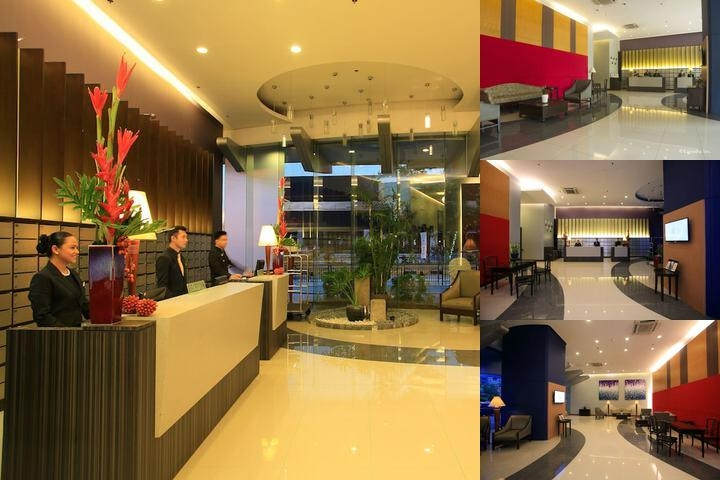 The Malayan Plaza photo collage