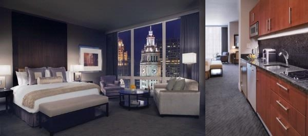 Trump International Hotel & Tower Chicago photo collage