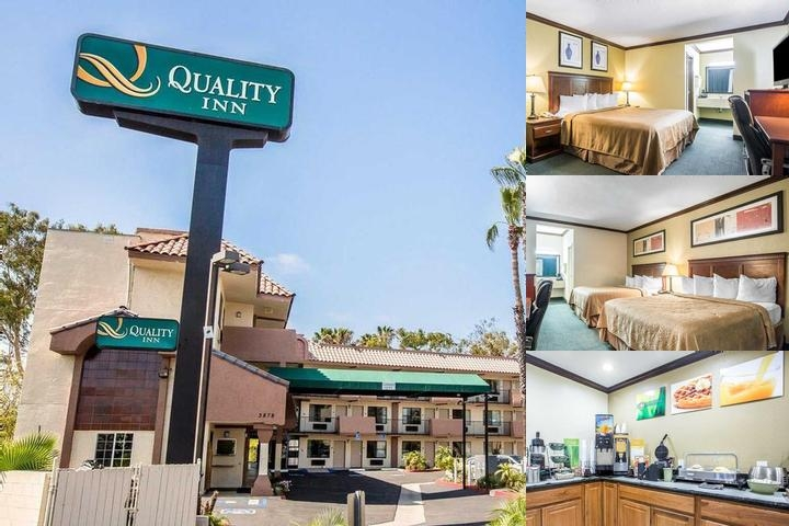 Quality Inn San Diego photo collage