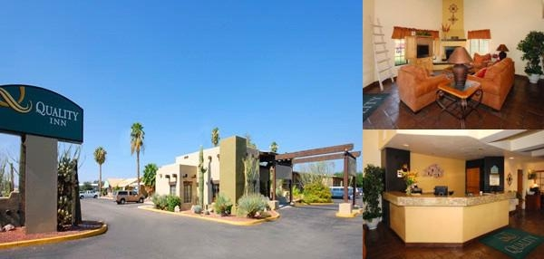 Quality Inn Tucson photo collage