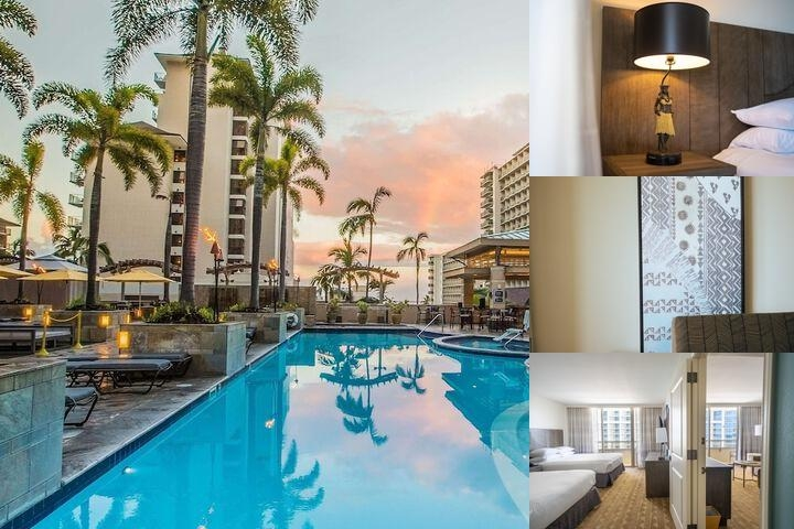 Embassy Suites Waikiki Beach Walk photo collage