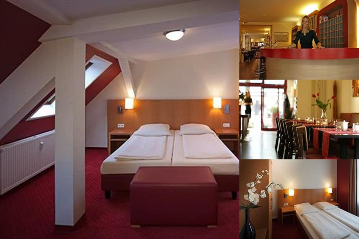Air in Berlin Hotel photo collage