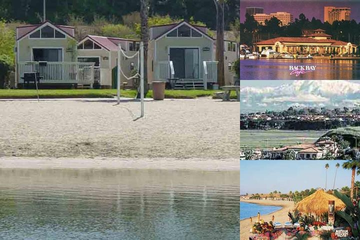 Newport Dunes Waterfront Resort photo collage
