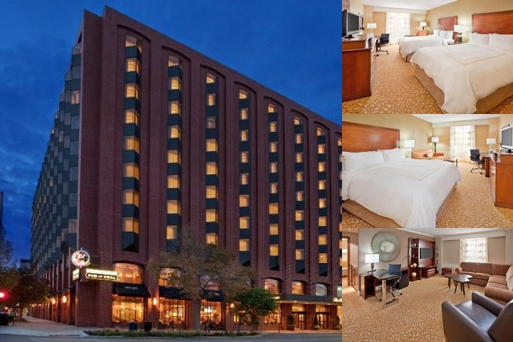 The Cornhusker a Marriott Hotel photo collage