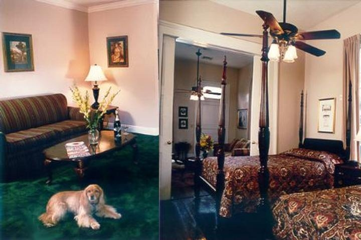 French Quarter Suites photo collage