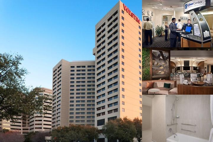 The Westin Park Central photo collage