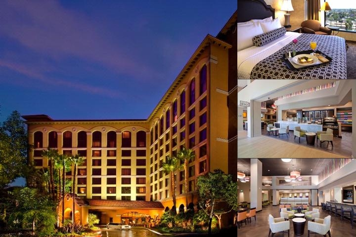 Crowne Plaza Resort Anaheim photo collage
