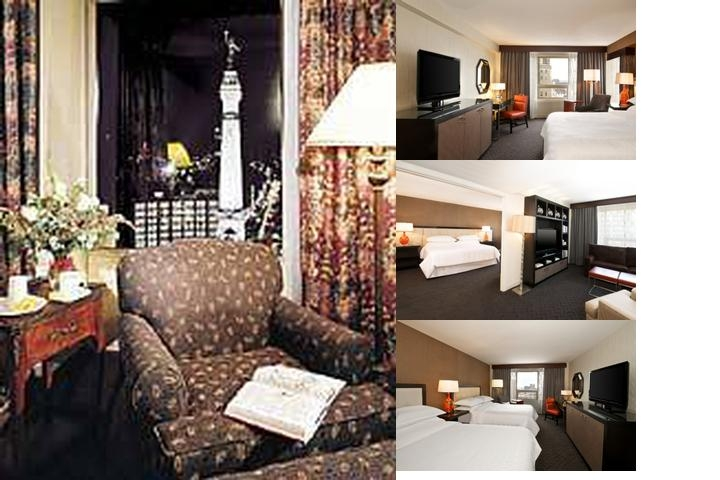 Sheraton Indianapolis City Centre Hotel photo collage