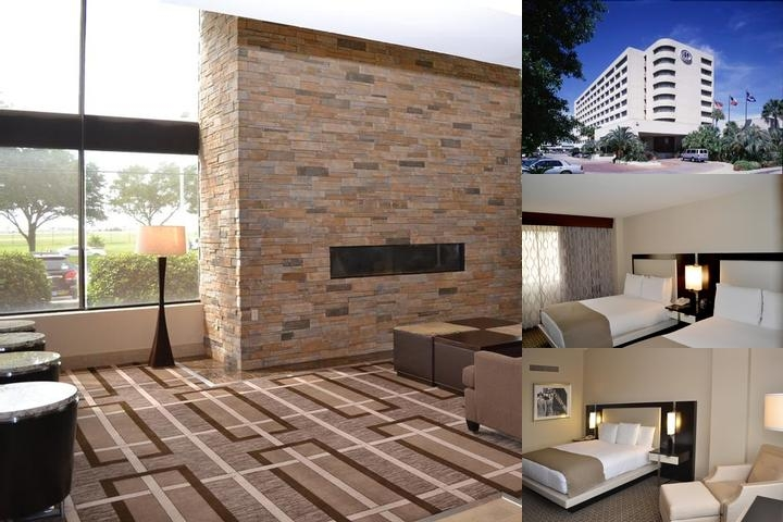 Houston Hobby Hilton photo collage