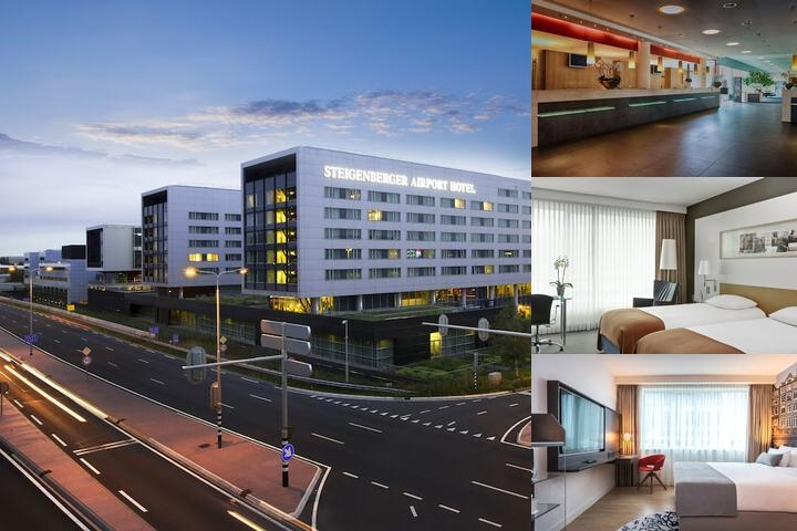 Steigenberger Airport Hotel Amsterdam photo collage