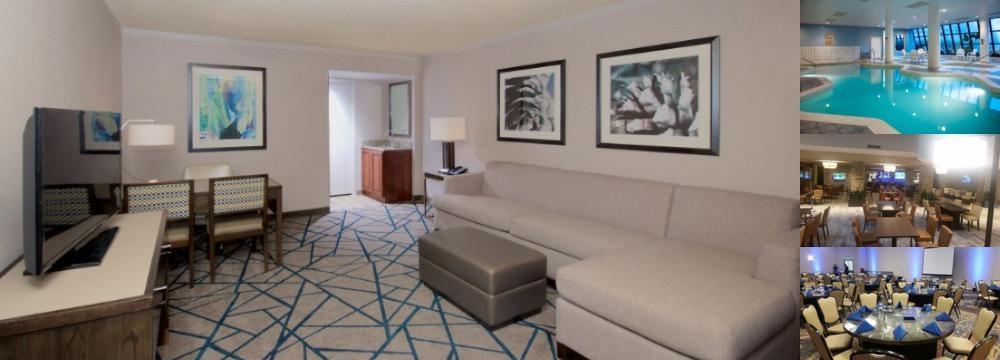 Emby Suites Portland Washington Square Photo Collage