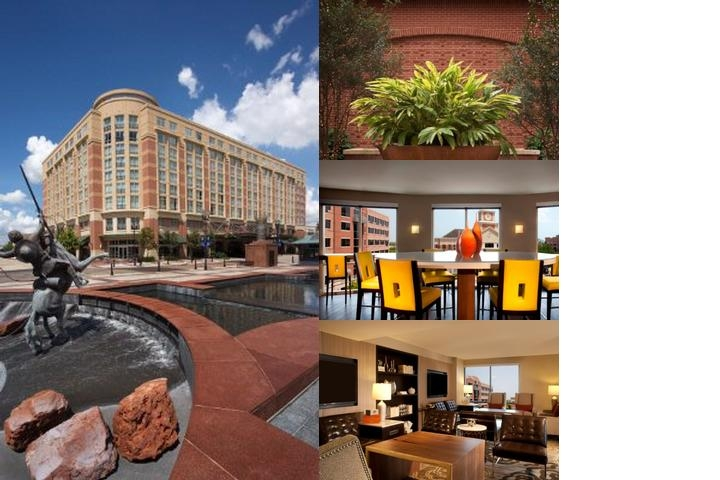 Sugar Land Marriott Town Square photo collage