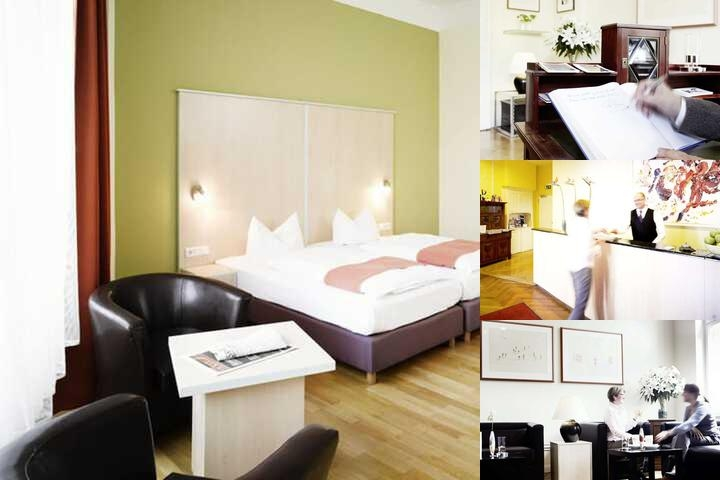 Hotel Hansablick in Berlin Tiergarten photo collage