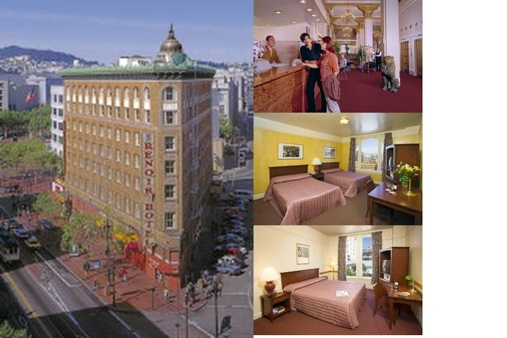 Renoir Hotel photo collage
