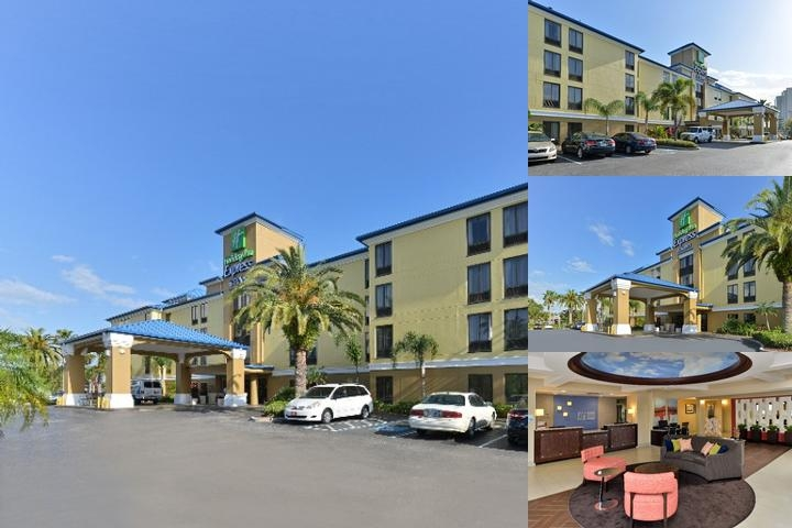 Holiday Inn Express Hotel & Suites Tampa Rocky Poi photo collage