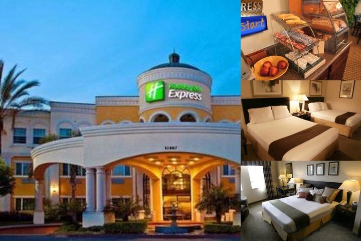 Holiday Inn Express Hotel & Suites Garden Grove photo collage
