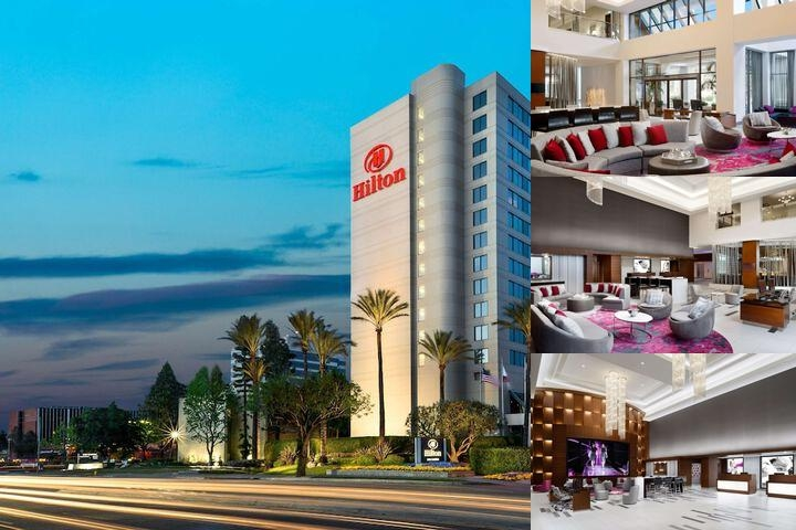 Hilton Woodland Hills photo collage