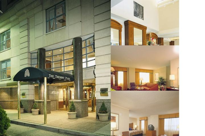 Baltimore's Tremont Suite Hotels photo collage