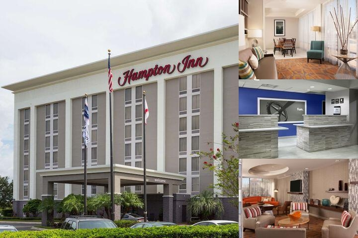 Hampton Inn Orlando International Airport photo collage